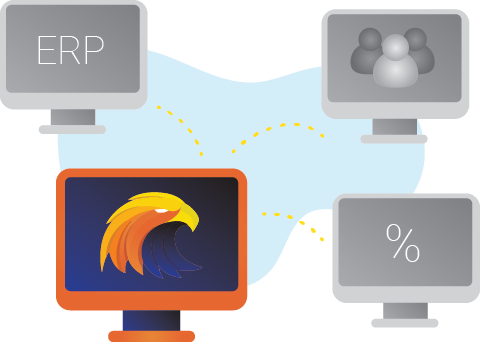 Integration med ERP-systemer som Lemonsoft, C9000 og Visma
