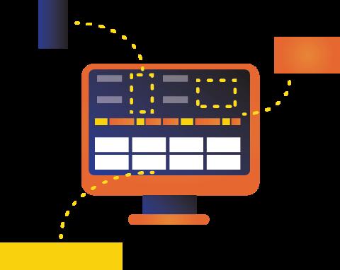 Il monitoraggio della macchina di produzione SkyMonitor può essere personalizzato per soddisfare le vostre esigenze