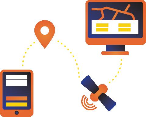 يضمن نظام GPS أن يتم التسجيل بالساعة في موقع العمل