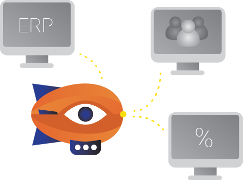 L'integrazione ha successo con molti sistemi ERP come Lemonsoft, C9000 e Visma
