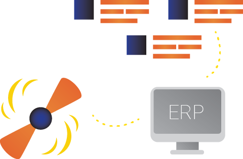 Bidding automatically retrieves product titles from the ERP system