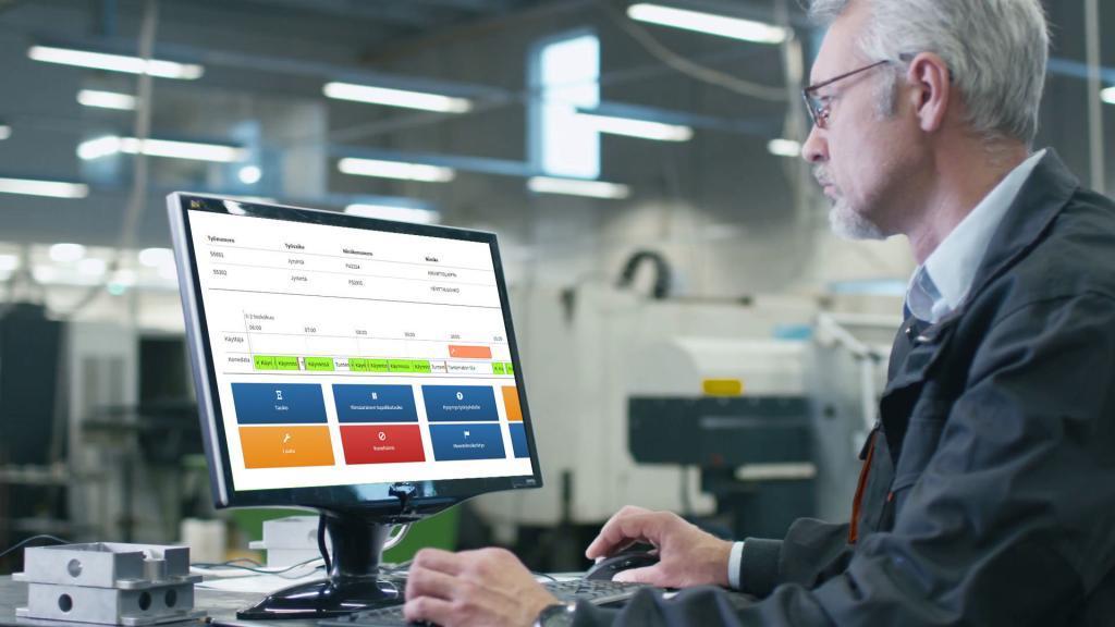 Monitoraggio della macchina di produzione abilitato