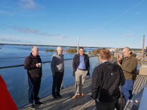 Skycoden yrittäjä Jussi Mäntylä kertoo tekoälyn konkreettisesta hyödyntämisestä teollisessa tuotannossa